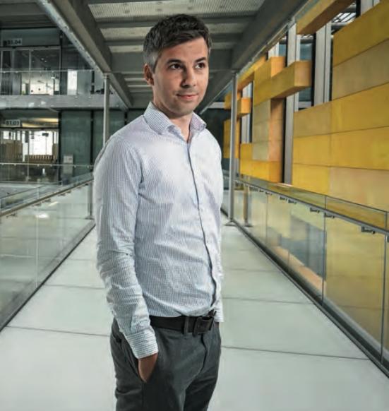 Les données numérisées des patients au service de la science: Marcel Salathé abordera ce sujet épineux le 30 mars prochain lors des journées «Trendtage Gesundheit Luzern (TGL)»