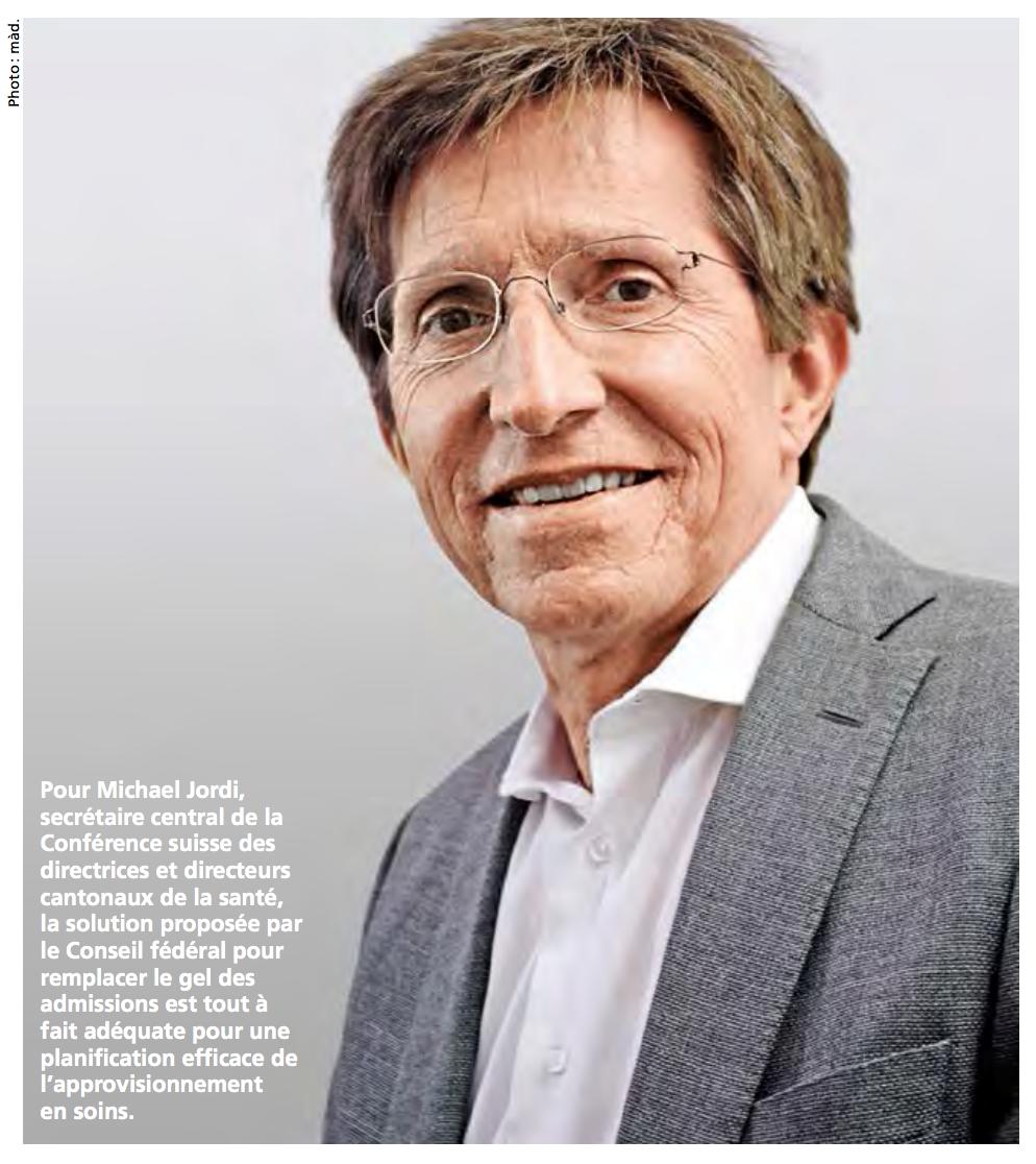 Michael Jordi, secrétaire central de la Conférence suisse des directrices et directeurs cantonaux de la santé